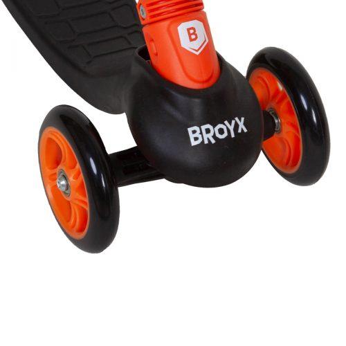 HULAJNOGA BROYX TRISCOOTER KID BASIC BLACK